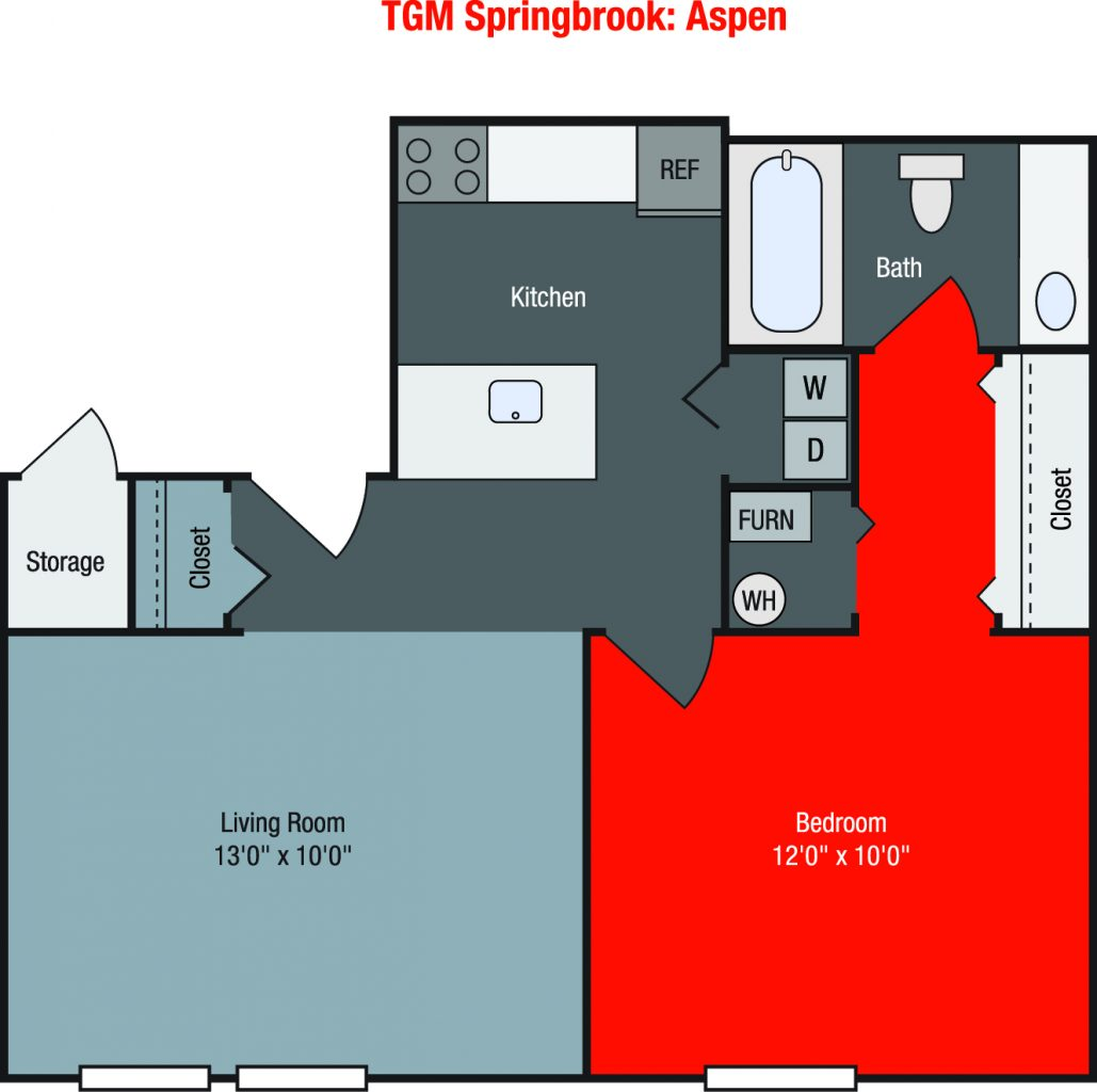 Apartments For Rent TGM Springbrook - Aspen