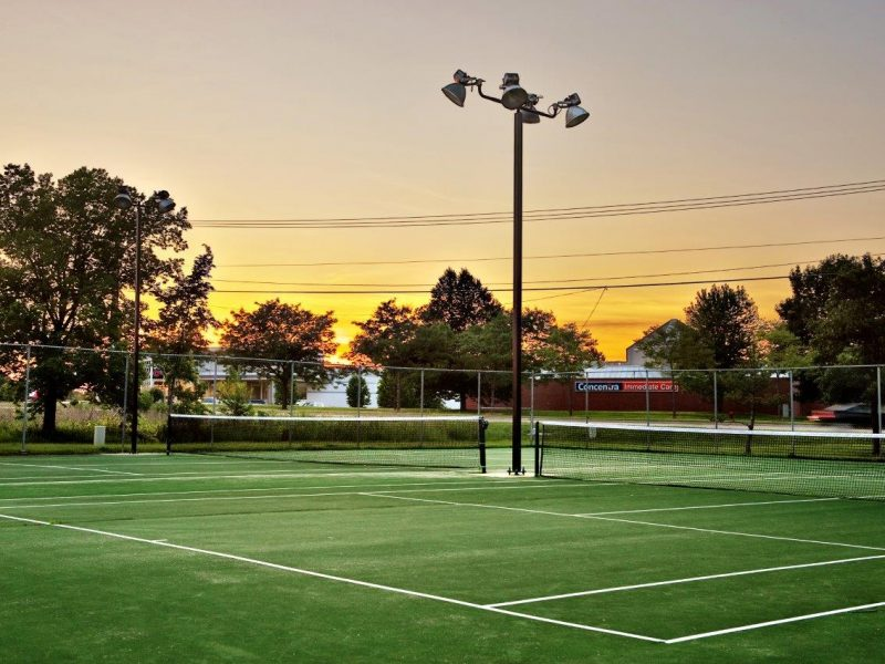 TGM Springbrook Apartments Tennis Court